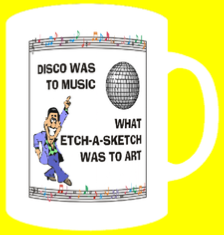 DISCO WAS TO MUSIC